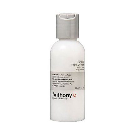 Anthony Logistics For Men glycolique Cleanser, 2 once