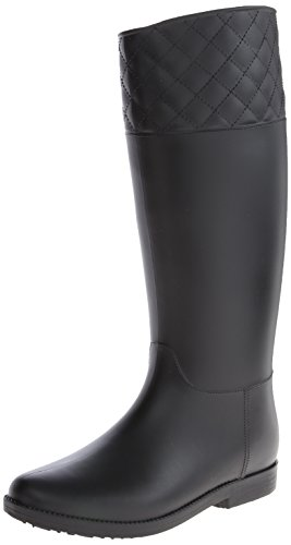 Dirty Laundry by Chinese Laundry Women's Thumbs Up PVC Rain Boot, Black, 8 M US (Thumbs Up Rain Boots compare prices)