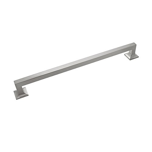 Hickory Hardware P3027-SN Studio Collection Pull, 12 Inch Center to Center, Satin Nickel
