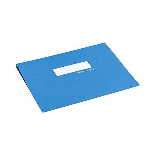 生活日用品 (まとめ買い) データファイルA アンバースト用 Y11~15×T11 1000枚収容 青 EF-251SNB 1冊 【×5セット】 B074JQWZS3