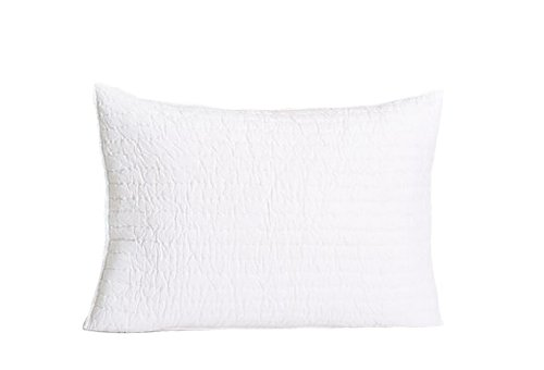- Be-You-tiful Home Basic Quilted Sham, Standard, White