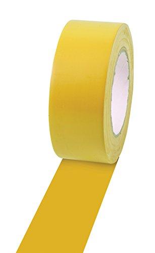 Champion Cinta de Vinilo Sports para marcar Suelos, Varios Colores y Longitudes, 5 cm x 33 m, Amarillo, 2' x 36yd