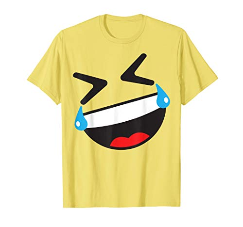 ROFL Face Emoji Easy Lazy Group Halloween Costume