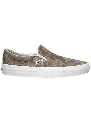On Marble Khaki White suede Slip U Vans True PqgwtEnX