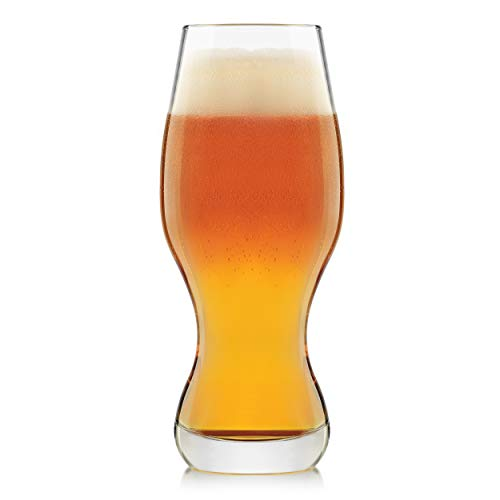 Libbey Craft Brews IPA Beer Glasses, 16-ounce, Set of 4 (Best Ipa Craft Beer)