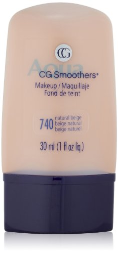 CoverGirl Smoothers Liquid Make Up, Natural Beige 740, 1-Ounce Packages (Pack of 2)