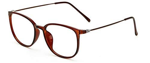 marrón Unisex Transparentes de Bright Gafas para de Hykis Lentes Marco Pierna Retro Retro de Vintage Mujer Gafas Delgadas para oculos Grau Hombre Black para cuadradas Gafas Gafas xwXIqwBpF