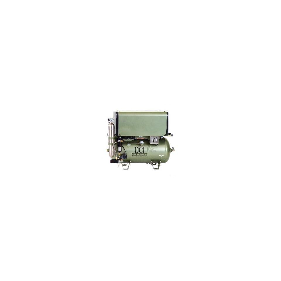 DC Series Deluxe Oil Less Air Compressor 10 User/ 3 HP / Triple Head/ 30 Gallon Tank/ 230 Vac
