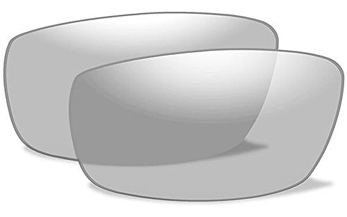 Wiley X WX XL-1 ADVANCED Authentic Replacement Lenses (Non-Polarized Clear - Sunglasses 1 Xl Wiley