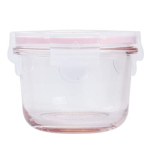 Baby Set Typ GENICOOK Babybrei Beikost Vorratsdosen Aufbewahrung aus Glas BPA-frei /& FDA /& LFGB Zugelassen Rechteckige 3x120 mL