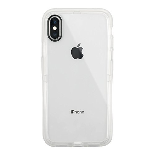 iPhoneX/XS Case, Hybrid Slim CASE for iPhoneX iPhoneXS Thin, Lightweight Lens Protected US Military MIL Standard Acquired Impact Smart Hockey (Clear)