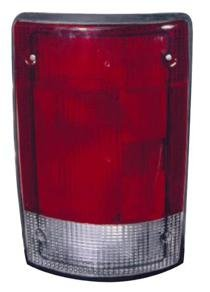 Go-Parts ª OE Replacement for 2004-2014 Ford Econoline Van Rear Tail Light Lamp Assembly/Lens/Cover - Left (Driver) 5C2Z 13405 AA FO2800190 for Ford Econoline Van (Tail Lamp Ford Van)