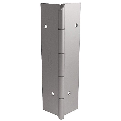 Markar - FM200-002-600-HT-MP - 180 Continuous Hinge With Holes, Gray Enamel Finish, 96 x 2-1/4 by MARKAR