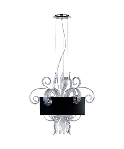 Glass Jellyfish Pendant Light in US - 4