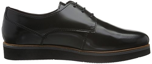 Marc O'Polo Schnürer - Zapatos derby para mujer Negro (Black 990)