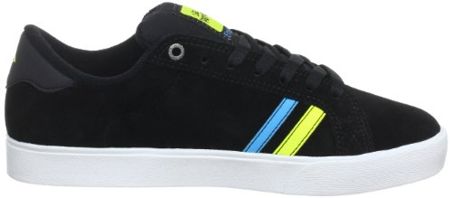 Emerica THE LEO 6102000065 - Zapatillas de skate de ante para hombre Black/White/Yellow