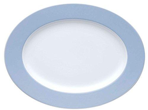 Thomas Germany Sunny Day Oval Serving Platter Pastel Blue (Rosenthal Sunny Day)