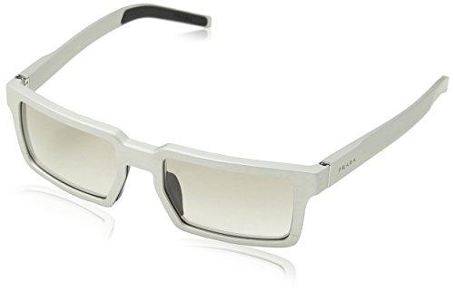 Prada Mens Sunglasses (PR 50S) Silver Matte/Grey Metal - Non-Polarized - - Specs Prada