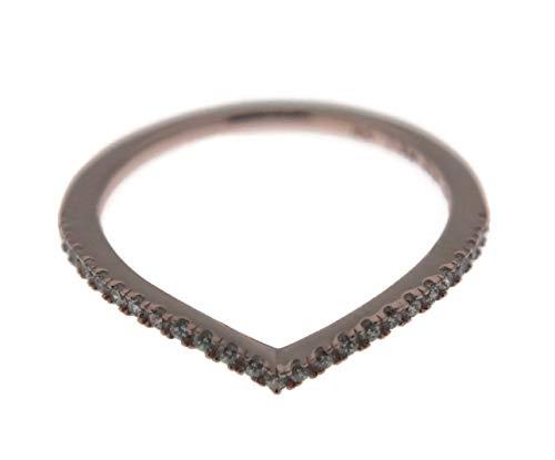 Wishbone Gold Rings (PANDORA Shimmering Wish Wishbone Rose Ring, 186316CZ (54))