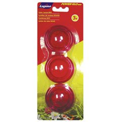 (Laguna PowerGlo Mini Lens Set for LED Pond Light, Red)