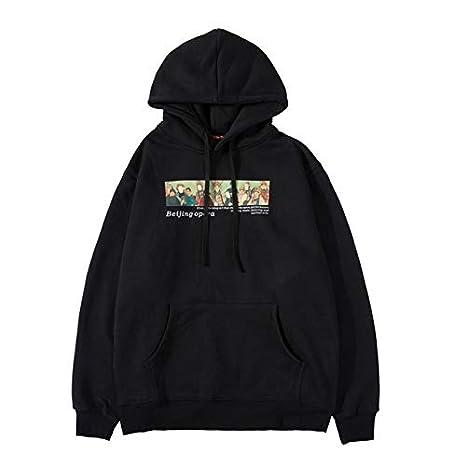WSDMY Pulls /à Capuche imprim/és dop/éra de P/ékin /à la////Mode Mode Streetwear /à Capuche/Pulls /à/Capuche Harajuku