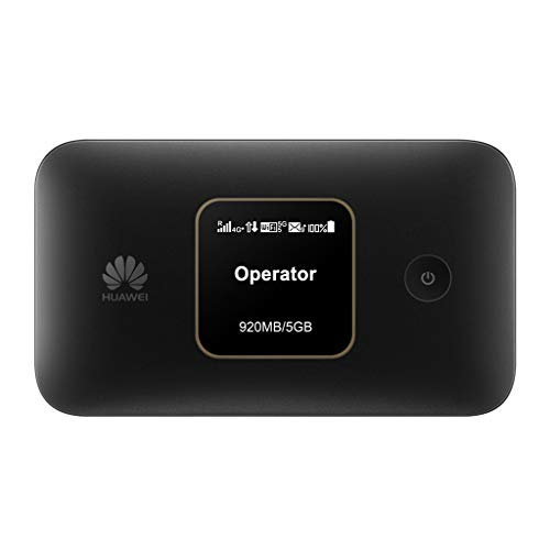 Huawei E5785Lh-22c 300 Mbps 4G LTE Mobile WiFi (4G LTE in Europe, Asia, Middle East, Africa & 3G globally. 12 hrs working, Original OEM item) (Black) (Best Mobile Broadband Router)