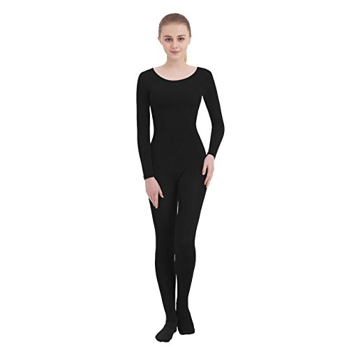 31c914b22 Galleon - Unisex Scoop Neck Footed Lycra Spandex Long Sleeve Unitard (XX- Large