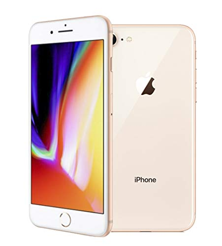 Apple iPhone 8, Boost Mobile, 64GB - Gold (Renewed)