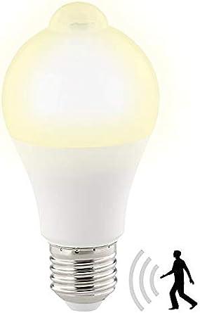 Luminea Led Mit Bewegungssensor Led Lampe Pir Sensor 12 W E27 Warmweiss 3000 K 1 055 Lumen Led Lampe Bewegungsmelder Amazon De Beleuchtung