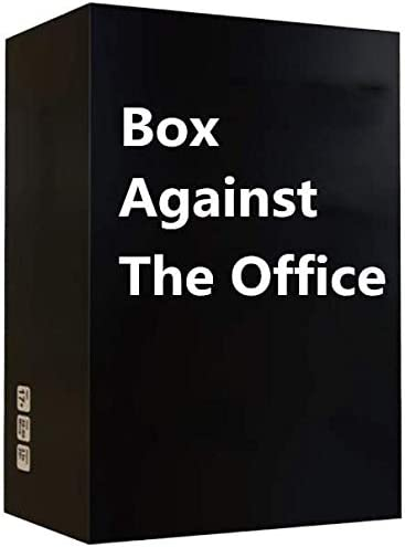 Box Against The Office Edition - A New Party Game for Adult
