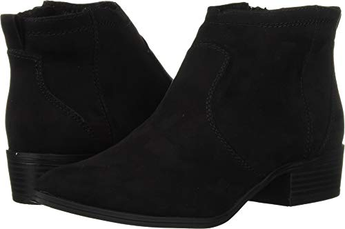 DV by Dolce Vita Women's JURYY Ankle Boot, Black Stella Suede, 8.5 M US