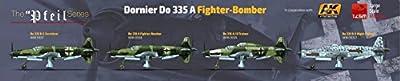 """HK MODELS 1:32 Dornier Do 335 A Fighter Bomber The """"Pfeil"""" Series 01E08"""