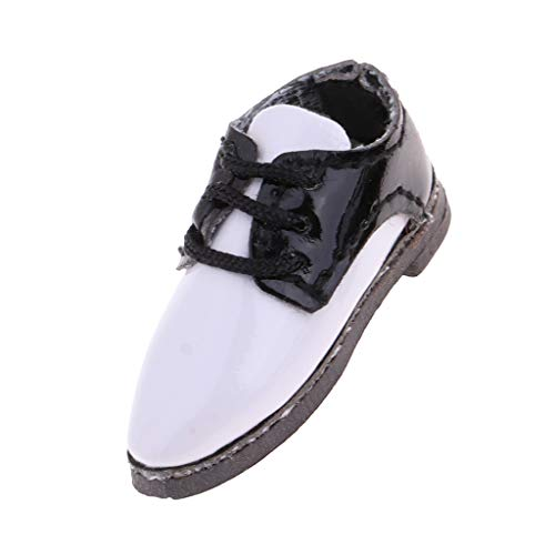 Homyl Popular Lace-Up Shoes PU Leather English Oxford Shoes For 1/6 Blythe Doll Clothes Accessories Black from Homyl