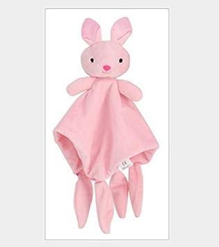 YOIL Cuna para Bebés Juguetes para Bebés Lindo Conejo de Juguete Toalla de Algodón Suave Toalla de Mano Bebé Edredón Juguetes Peluche _Pink: Amazon.es: ...