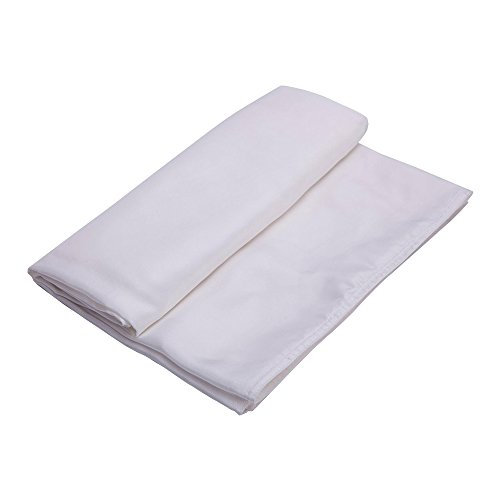 ALASKA BEAR - Natural Silk Sleeping Bag Liner Cocoon-Style Travel Sheet Sleep Sack with Built-in Pillowcase(Ivory, 88