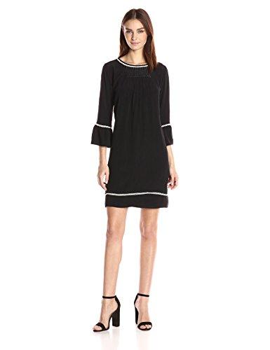 Sleeve Pintuck Dress - 5