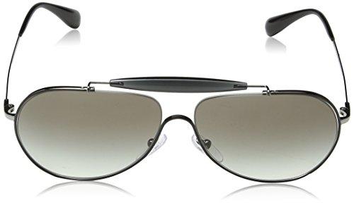 Black 56SS Prada Grey Negro Topo PR Sonnenbrille Gunmetal 1HHxXS