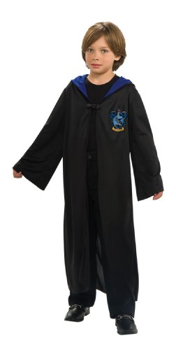 [Harry Potter Child's Ravenclaw Robe - One Color - Large] (Harry Potter Halloween Costumes Hermione)