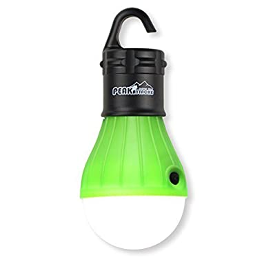 PeakAttacke Outdoor Portable Waterproof LED Tent Light for Camping, Hiking, Emergencies(Green)