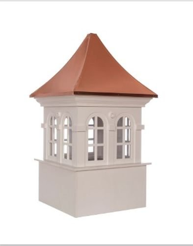 Smithsonian Stafford Vinyl Cupola with Copper Roof 36'' x 58'' by Good Directions by Good Directions
