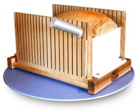 The Bread Pal Bread Slicer, Maple and Birch
