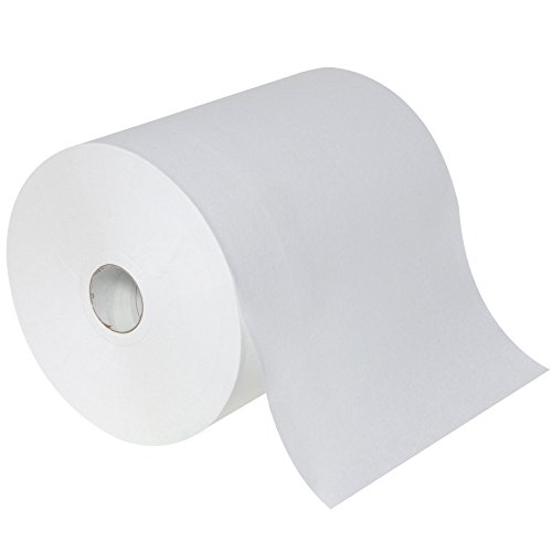 Touch Free Automatic Paper Towel - enMotion Georgia Pacific 89460 High Capacity Paper Towels, Roll, Poly-Bag Protected, White