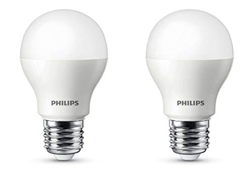 PHILIPS 9W e27 LED Golden Yellow Bulb, Pack of 2, (Ace Saver)
