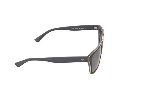 Matte Unisex Sol 539081 Top Adulto de Black Armani Gafas Grey Emporio IWCw87qn