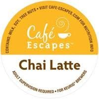 Cafe Escapes Chai Latte Specialty Tea * 3 Boxes of 24 K-Cups * by Green Mountain Coffee