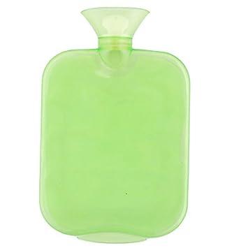 DealMux Família PVC Viagem de Inverno aquecimento Armazenamento de Água Bag Hot Verde Garrafa 1700 ml