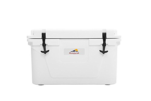 45 Cooler with Rope Handle (White) by Rocky Mountain Valley