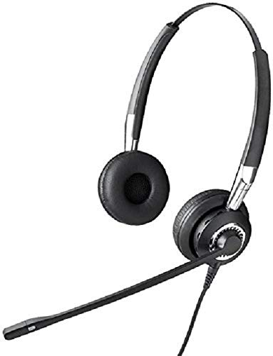 Amazon.com: Jabra Biz 2400 II QD Duo NC Wired Headset: Cell Phones