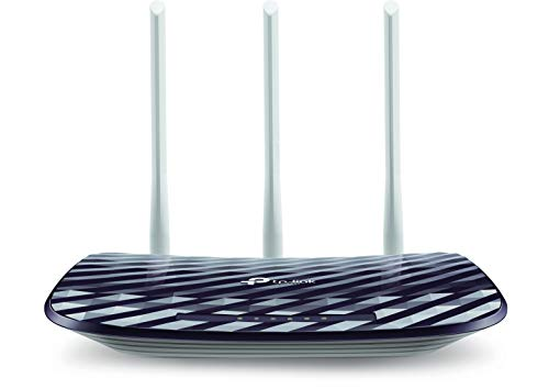 TP-Link AC750 Wireless Dual Band Router, 2.4GHz 300Mbps + 5GHz 433Mbps, 3 External Antennas (Archer C20)