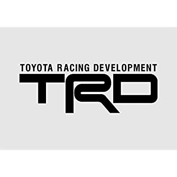 Fj cruiser decals trd racing development 8in vinyl decal die cut sticker black